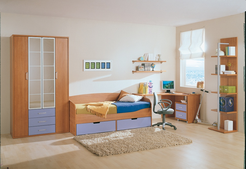 коллекция мебели милена детские комнаты мебель для детских